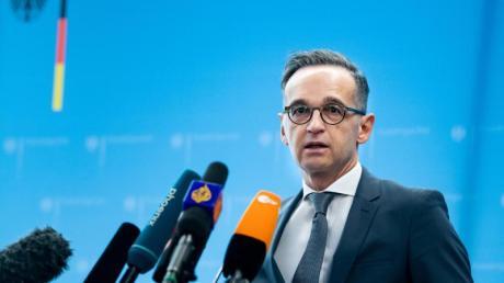 Plant für die geplanten Rückholflüge bis zu 50 Millionen Euro auszugeben: Heiko Maas..