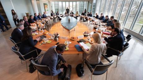 Am Dienstag ist das bayerische Kabinett zur Corona-Krisen-Sitzung zusammengekommen.
