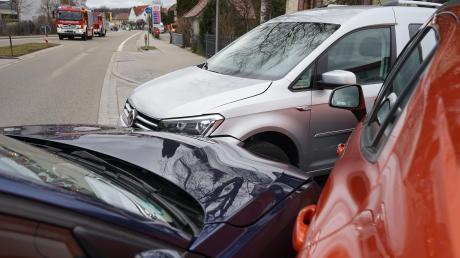 Am Freitag, 6. März, krachte es in der Landsberger Straße in Mindelheim. Der Sachschaden beträgt etwa 17.500 Euro.