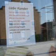 Schreibwaren Wenger in Schwabmünchen schließt.