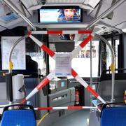 # Corona,Virus, ÖPNV, Öffentlicher Nahverkehr, Schutz für Busfahrer