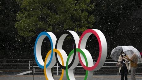 Wegen der Coronavirus-Pandemie sind die Olympischen Spiele gefährdet.