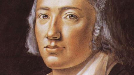 Friedrich Hölderlin in jüngeren Jahren.