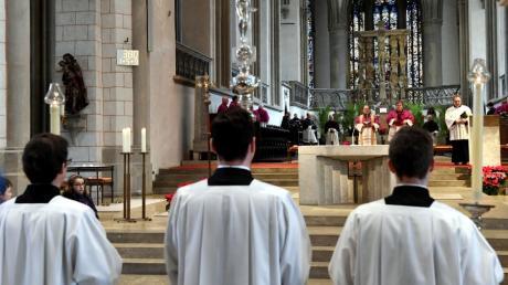 Am Sonntag wird Bertram Meier in seiner Privatkapelle eine Messe abhalten.