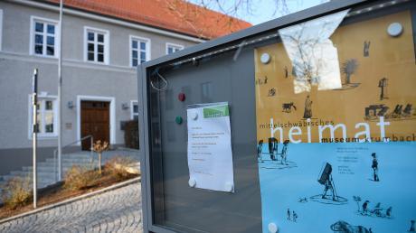Das Heimatmuseum in Krumbach bekommt Fördergelder vom Bund.