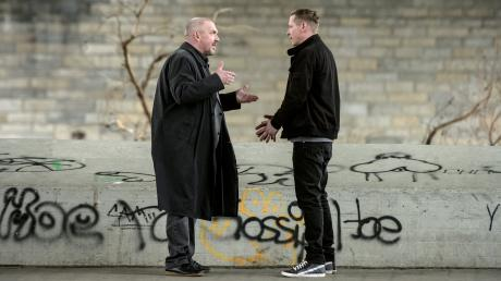 Kommissar Freddy Schenk (Dietmar Bär) stellt Stefan Krömer (Gerdy Zint) zur Rede. Der junge Vater zahlt keinen Unterhalt für seine Tochter Marie. Szene aus dem Kölner Tatort heute.