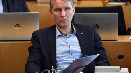 Thüringens AfD-Fraktionschef Björn Höcke Anfang März im Landtag in Erfurt.