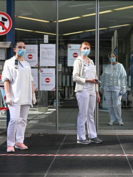 Coronavirus: Auch in Augsburg steigt die Zahl der Infizierten.