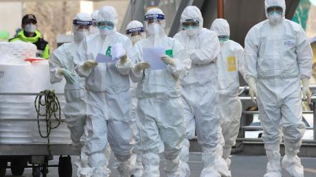 Desinfektion und Disziplin – das sind in Südkorea zwei Schlüsselworte im Kampf gegen das Coronavirus.