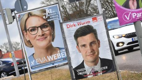 Die CSU hat Augsburg verteidigt, die SPD stellt weiter den Bürgermeister in München. Die Grünen stellen keinen Oberbürgermeister in Bayern.