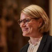 Eva Weber ist Augsburgs neue Oberbürgermeisterin.