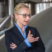 Pia Kollmar wird in der Geschäftsführung der Oettinger Brauerei unter anderem für Finanzen zuständig sein.