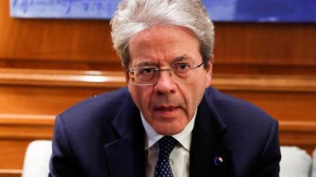EDU-Wirtschaftskommissar Paolo Gentiloni.