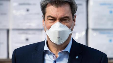 CSU-Chef Markus Söder liegt in der K-Frage der Union vorne.