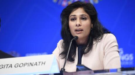 Gita Gopinath, Chefvolkswirtin des Internationalen Währungsfonds (IWF).
