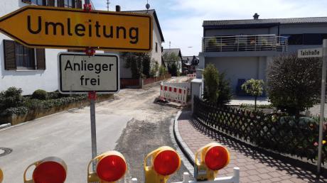 Die Sanierung der Talstraße ist eines der größten Projekte im Haushalt der Gemeinde Münster für 2020.