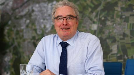 Für Oberbürgermeister Gerold Noerenberg endet am 30. April die Amtszeit in Neu-Ulm.