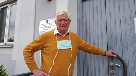 Martin Walch hört nach zwölf Jahren auf. Bei der letzten Bürgermeisterwahl trat er nicht mehr an. Nun räumt er sein Büro im Rathaus in Merching.
