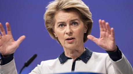 EU-Kommissionschefin Ursula von der Leyen hat die Geberkonferenz einberufen.