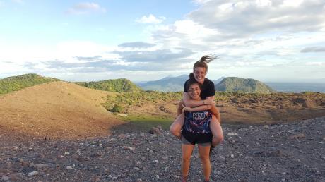 Eva und Alisia auf ihrer großen Reise durch ganz Amerika