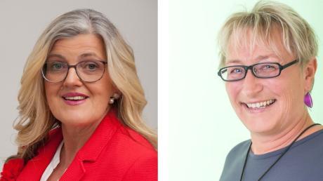 Sowohl Ulrike Sasse-Feile (SPD, links)) als auch Claudia Eser-Schuberth (Grüne) gelten als Mögliche Interessentinnen für das Amt der 3. Friedberger Bürgermeisterin.