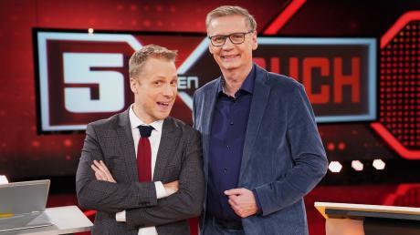 """""""5 gegen Jauch"""" kommt heute im TV. In unserer Vorschau verraten wir Ihnen, welche Promis im Rateteam dabei sind."""