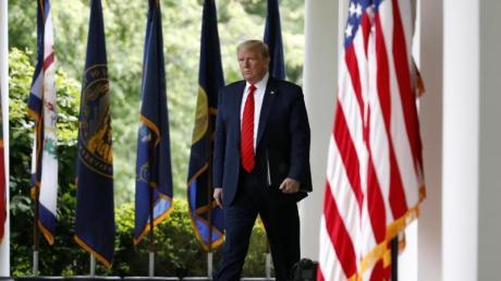 US-Präsident Donald Trump will selbst keine Maske tragen.