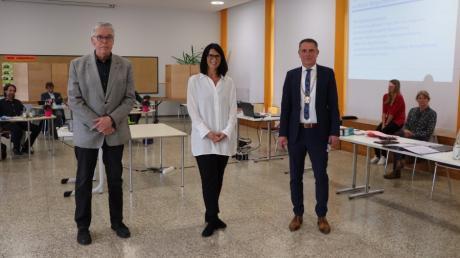 Wolfgang Ostermann (links) und Susanne Kränzle-Riedl vertreten künftig Bürgermeister Jürgen Eisen.