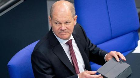 Bundesfinanzminister Scholz wagte im Bundestag keine guten Prognosen.