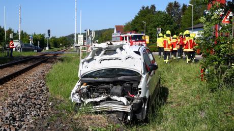 In Elchingen ist es am Dienstag zu einem Unfall an einem Bahnübergang gekommen.