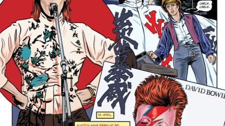 Eine besondere Hommage an David Bowie ist nun erschienen: eine Graphic Novel, die seinen Werdegang in den frühen Jahren nachzeichnet.