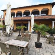 """Das Restaurant """"Palladio"""" in Augsburg. Betreiber Bernhard Spielberger hat vor Gericht längere Öffnungszeiten erstritten - und die gelten in Augsburg jetzt für alle."""