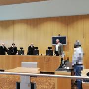 Ein Schwurgericht am Landgericht in Augsburg will klären, wie es im August 2019 zu dem Todesfall in einer Affinger Asylbewerberunterkunft kam.