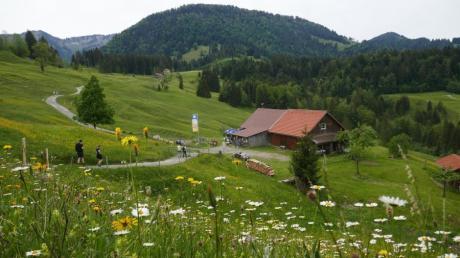 Auch auf der Alpe Neugreuth ist seit Corona alles anders.