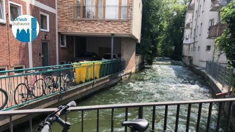 Der Unesco Wasserspaziergang ist  ein  familienfreundliche Wasserspaziergang vom Rathausplatz in die Altstadt, immer entlang den Stadtkanälen.