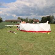 Der Pilot, ein 74-Jähriger aus dem Landkreis, starb bei dem Flugzeugabsturz auf dem Flugplatz Günzburg-Donauried.