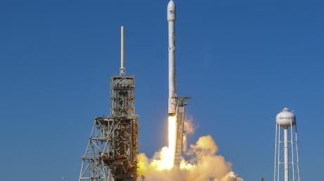 In den USA sind Astronauten zur ISS gestartet.