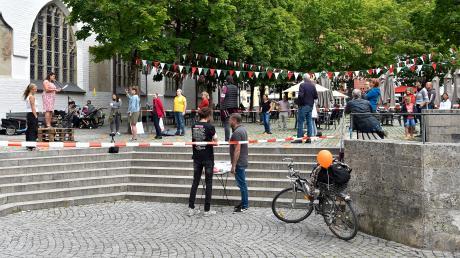 Vier Kundgebungen gegen die Corona-Maßnahmen fanden am Samstag in Landsberg statt.