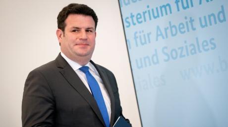 Arbeitsminister Hubertus Heil bezeichnet seine Zusammenarbeit mit den Gewerkschaften als konstruktiv und vertrauensvoll.