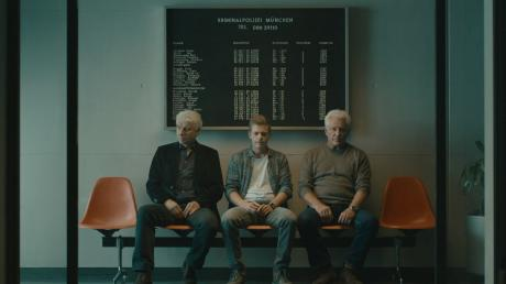 Franz Leitmayr (Udo Wachtveitl) und Ivo Batic (Miroslav Nemec) und Kalli Hammermann (Ferdinand Hofer) machte der neue Fall zu schaffen. Szene aus dem neuen München-Tatort.