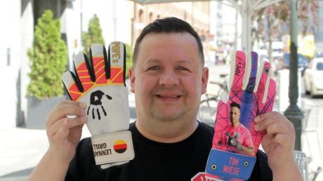 Christoph Nowak ist Experte für Torwarthandschuhe und in der Fußballszene sehr gut vernetzt.