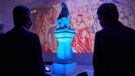 Multimedia-Schau;  Die Staatsregierung hat die Corona-Auflagen gelockert. Damit sind auch wieder Begleitveranstaltungen zur Bayerischen Landesausstellung möglich.