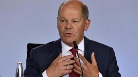 Finanzminister Olaf Scholz muss hohe Kosten einplanen.