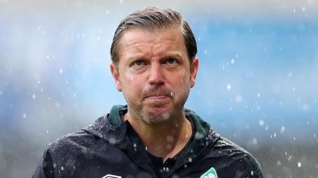 Trainer Florian Kohfeldt steht mit Werder Bremen unter Druck.