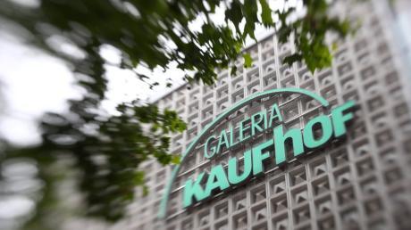 Galeria Kaufhof in der Hirschstraße in Ulm.
