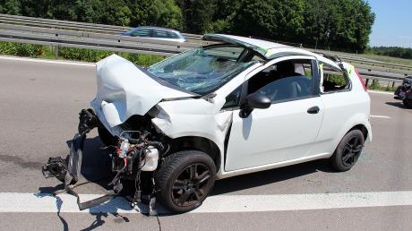 Auf der A7 ist ein Unfall passiert.