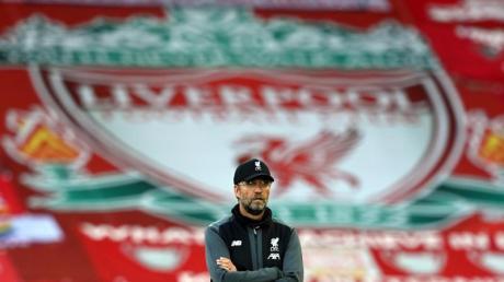 Trainer Jürgen Klopp ist mit dem FC Liverpool Champion der Premier League.