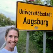 Wieder zurück in Augsburg: Lea Thies hat das Abenteuer Reisen während der Corona-Zeit gewagt.