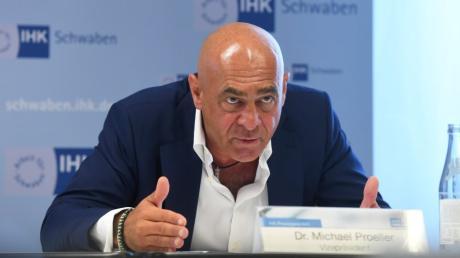 Warnte vor den wirtschaftlichen Folgen eines weiteren Corona-Lockdown: IHK-Vizepräsident Michael Proeller