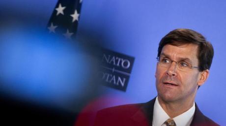 Mark Esper, Verteidigungsminister der USA, hat die Pläne zumTruppenabzug mit Trump besprochen.